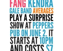 Tooth and the Fang + Kendra Gale Band + Averages