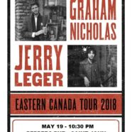 Jerry Leger + Graham Nicholas