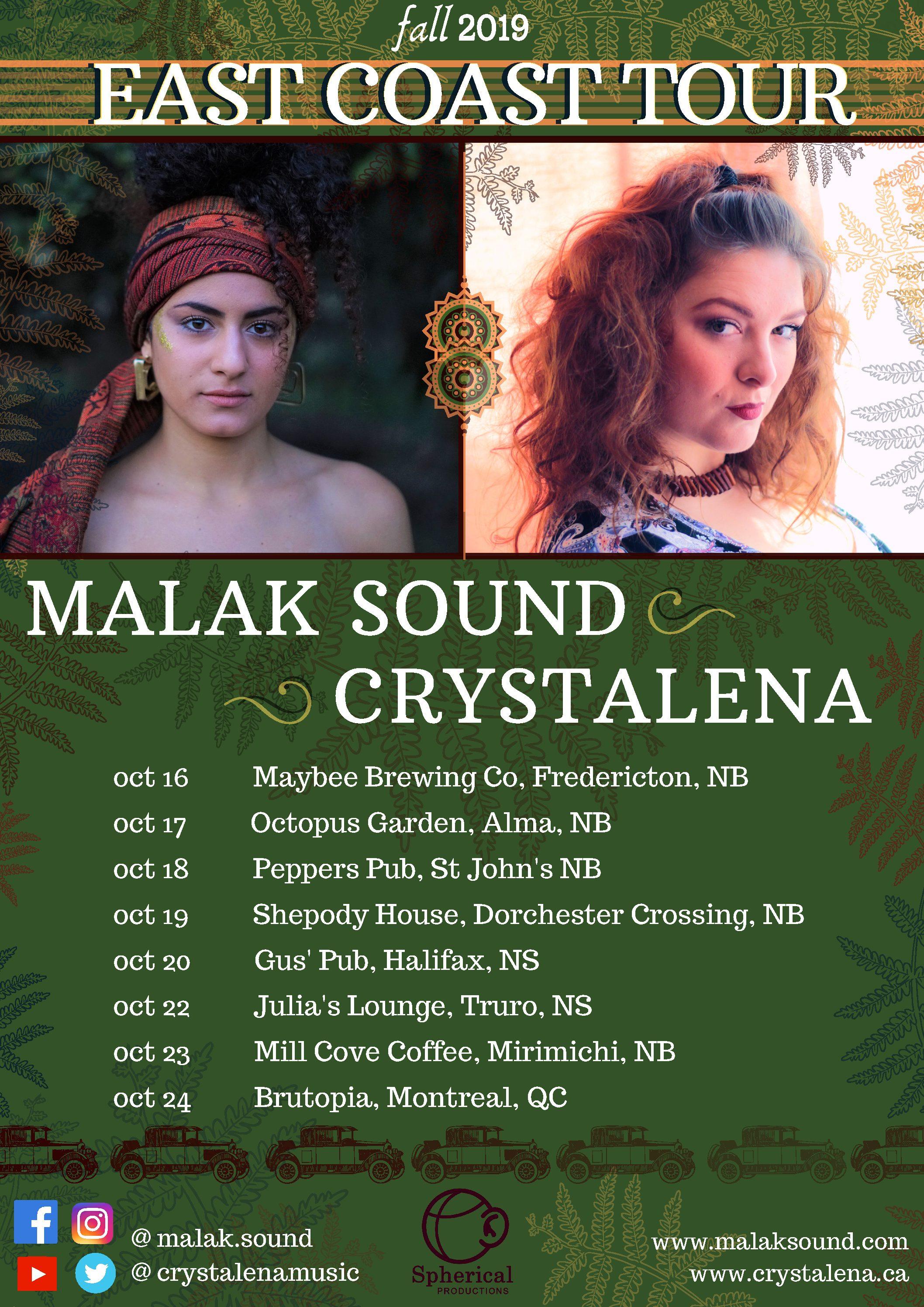 Malak Sound + Crystalena + Kylie Fox